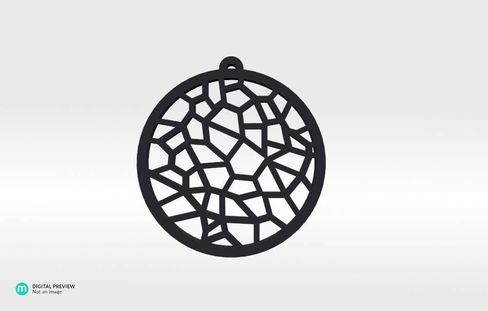 Resin black                                                Jewelry Pendants 3D printed