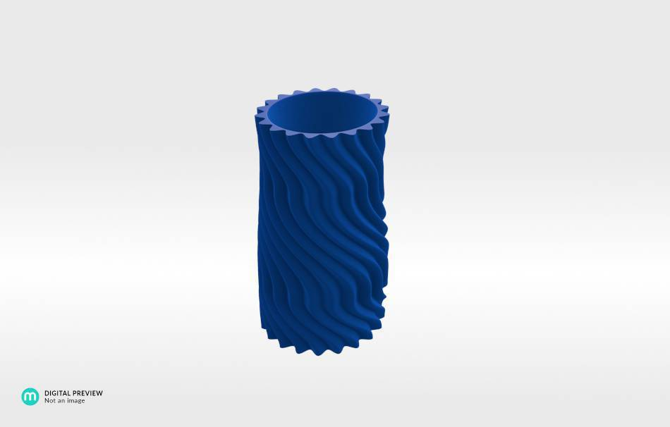Resin blue                                                Decoration Home 3D printed
