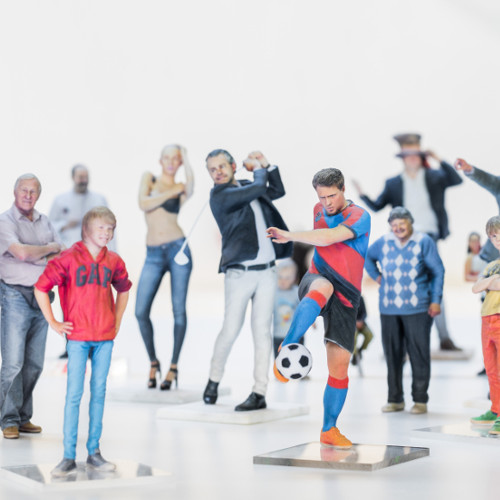 Get your personal 3D printed figurines of yourself or your loved ones